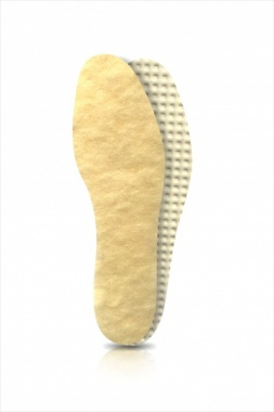 Wkładki do butów naturalna wełna jagnięca