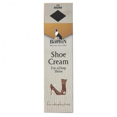 Krem w tubce do butów i skóry Boston brąz 50 ml