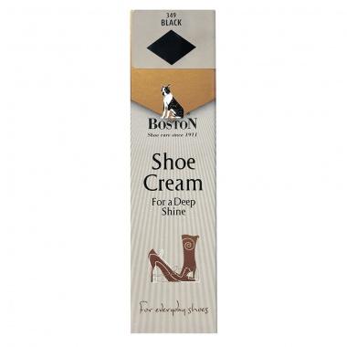 Krem w tubce do butów i skóry Boston czarny 50 ml