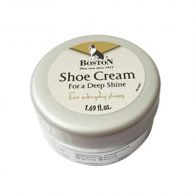 Krem do butów i skóry Boston w słoiczku biały 50 ml