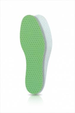 Wkładki do butów lateksowe pokryte bawełną