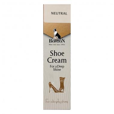 Krem w tubce do butów i skóry Boston bezbarwny 50 ml