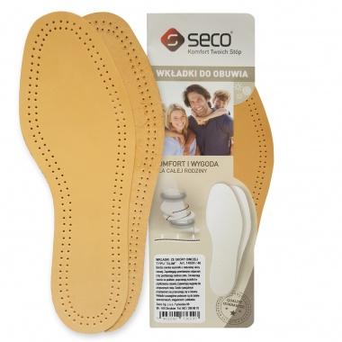 Wkładki do butów slim ze skóry owczej