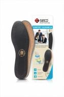 Wkładki do butów z owczej skóry czarne