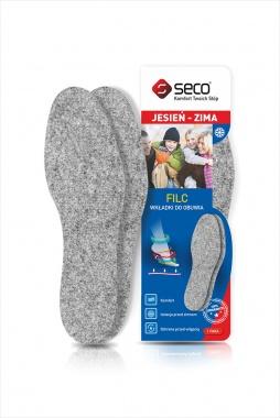 Wkładki do butów filc gruby 7 mm