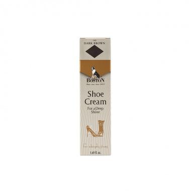 Krem w tubce do butów i skóry Boston ciemny brąz 50 ml