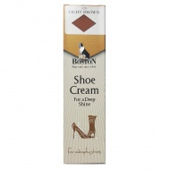 Krem w tubce do butów i skóry Boston jasny brąz 50 ml